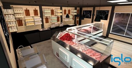 sklep mięsny wizualizacja