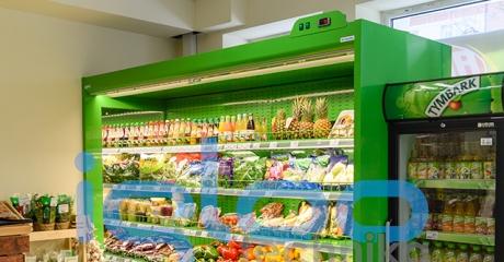 regał chłodniczy na warzywa