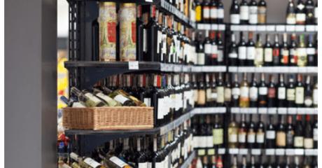 regały alkoholowe wireland